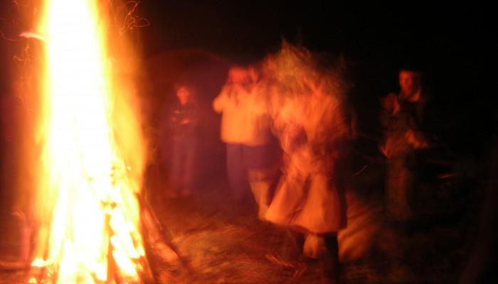 Танцы в пламени огня