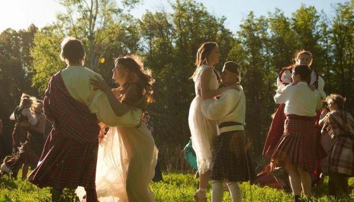 Танцы на солнечной поляне Бельтайна