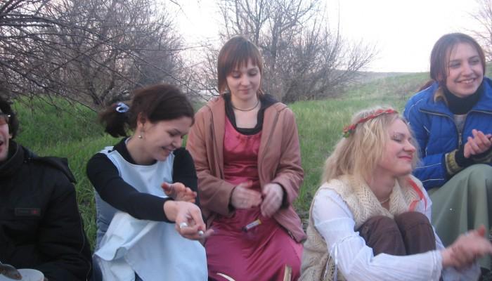 Девушки на Бельтайне 2007