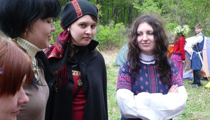Девушки на Бельтайне 2009