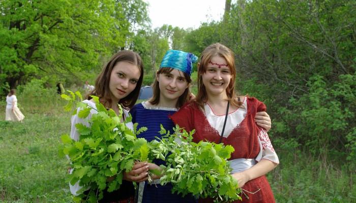 Лена, Вампиренок и Маришка