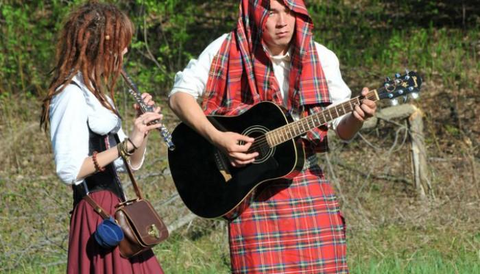 Шотландские менестрели