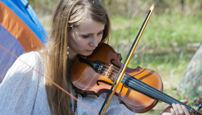 Скрипачка на Бельтайне